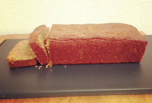 Sliced Pumpkin Bread Loaf