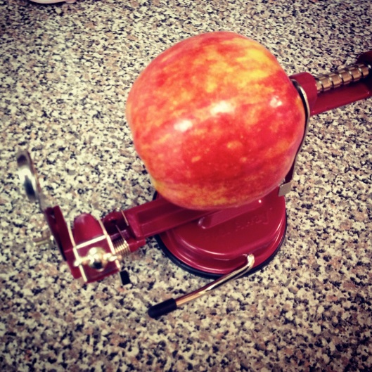 Apple Peeler Corer Slicer by My Life as a Trophy Wife